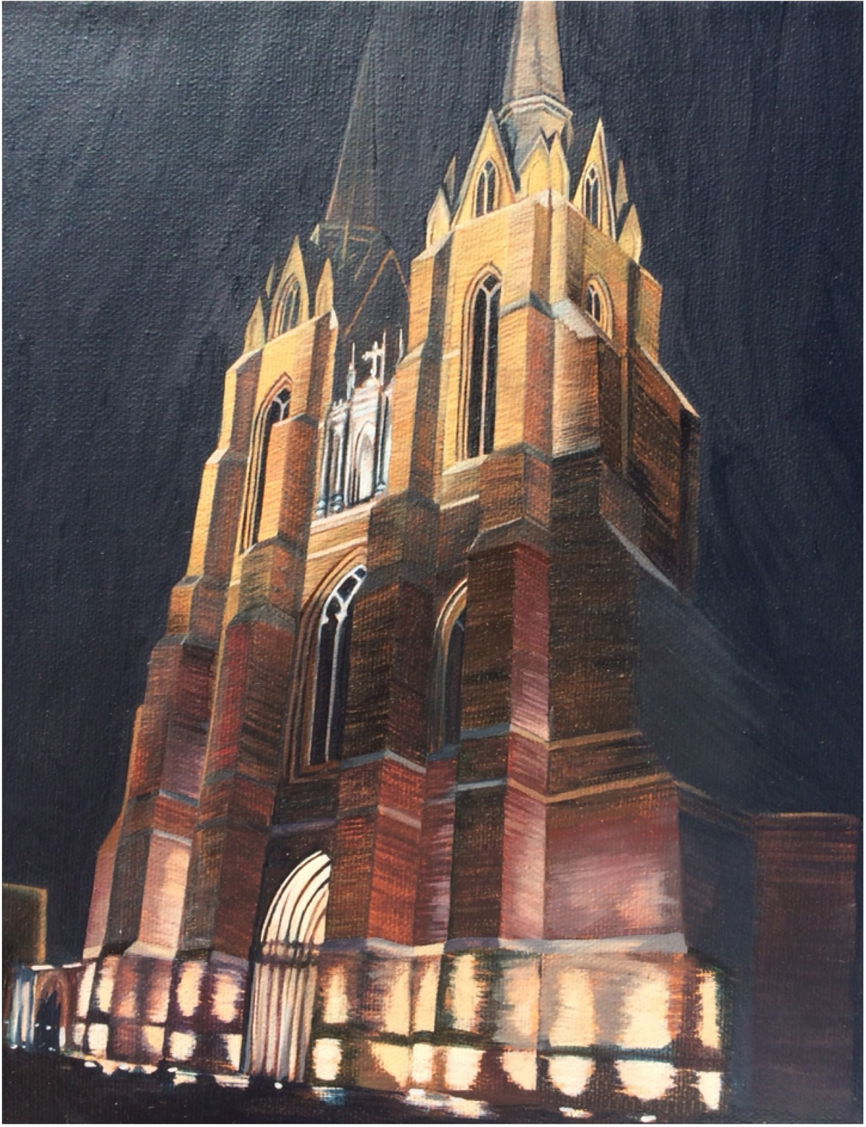 karenGarrett_church_night