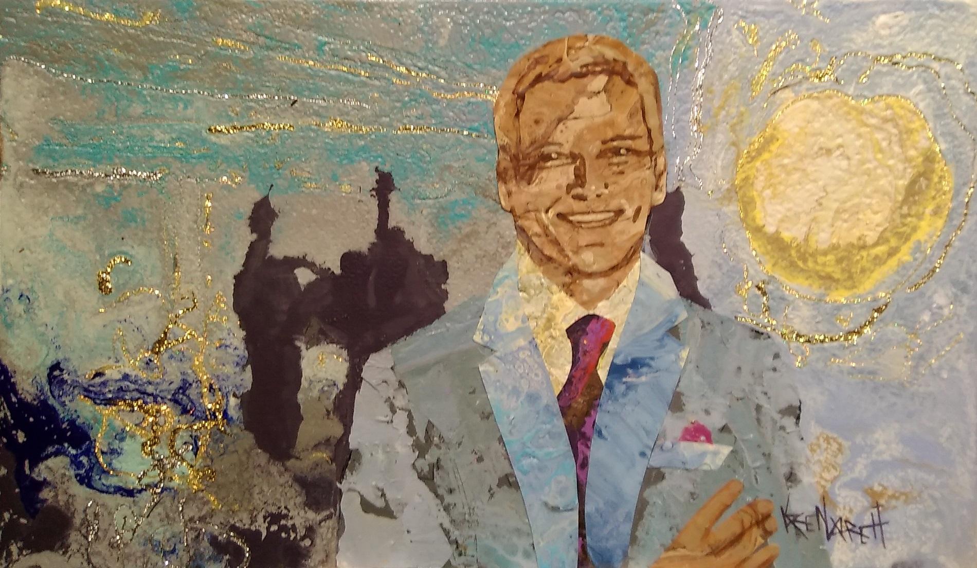 karen_garrett_flat_sculpture_caeser_solomon_hollein_portrait_$850