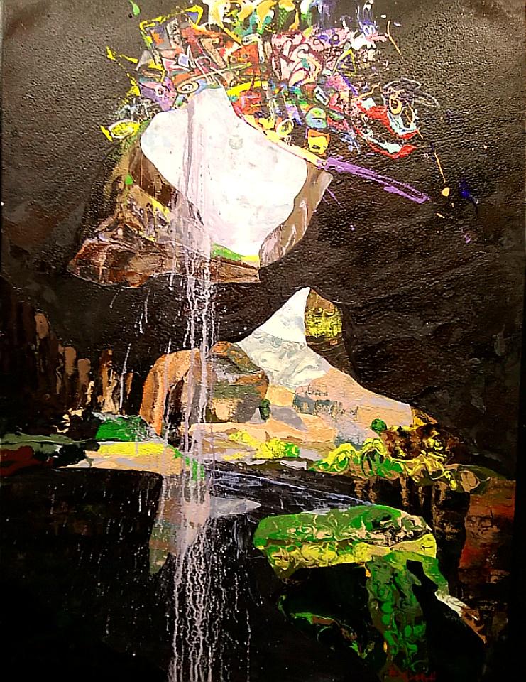 karen_garrett_flat_sculpture_graffiti_cave_$3,960
