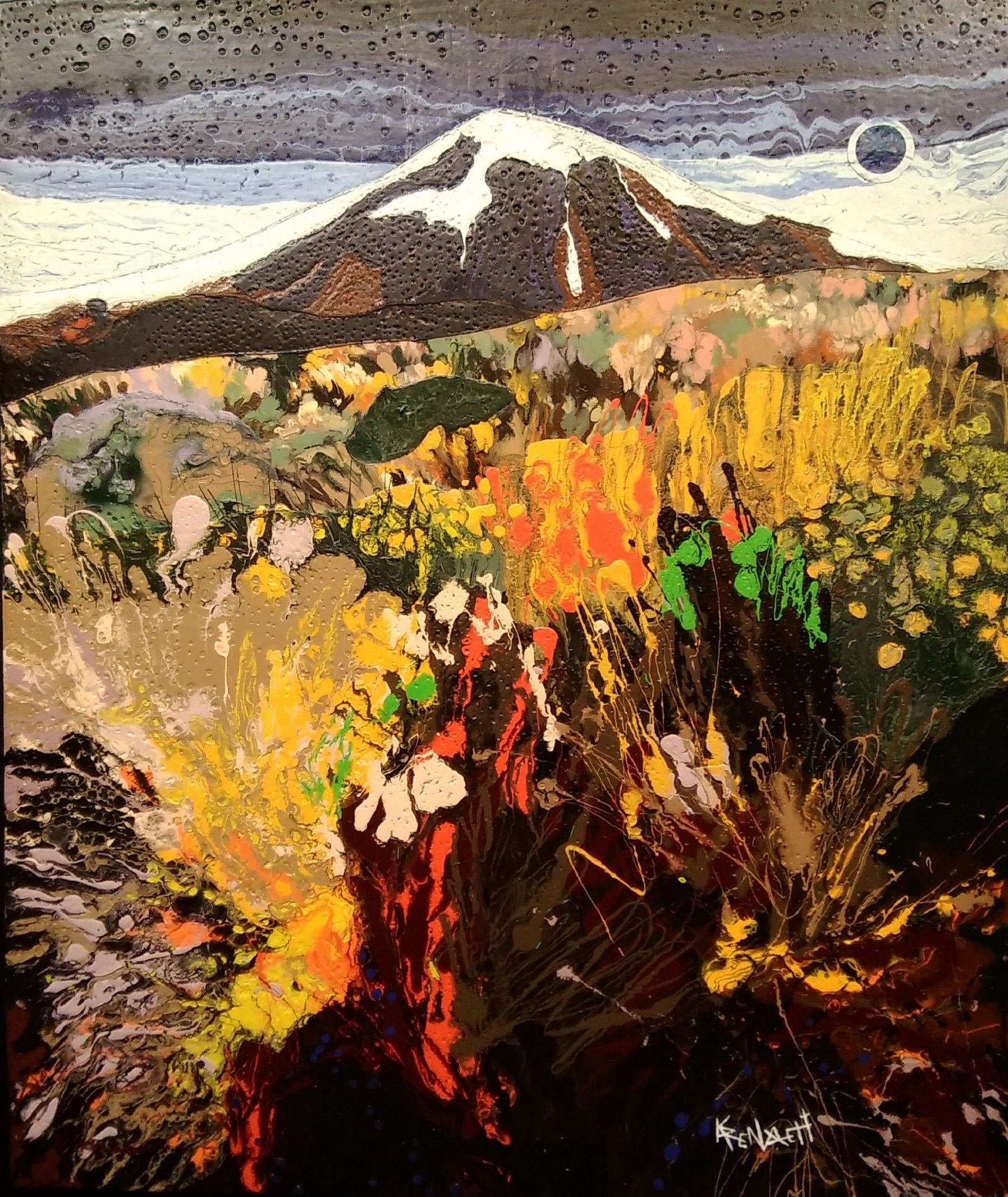 karen_garrett_flat_sculpture_mountain_meadow_$2,475