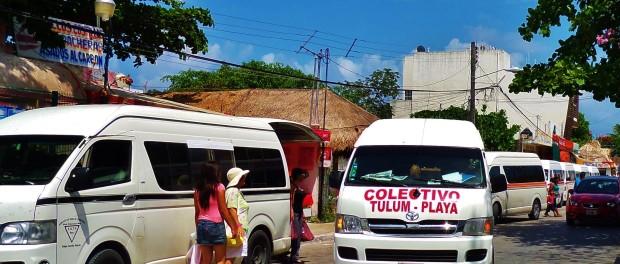 Colectivo , Playa Del Carmen, Tulum, Van