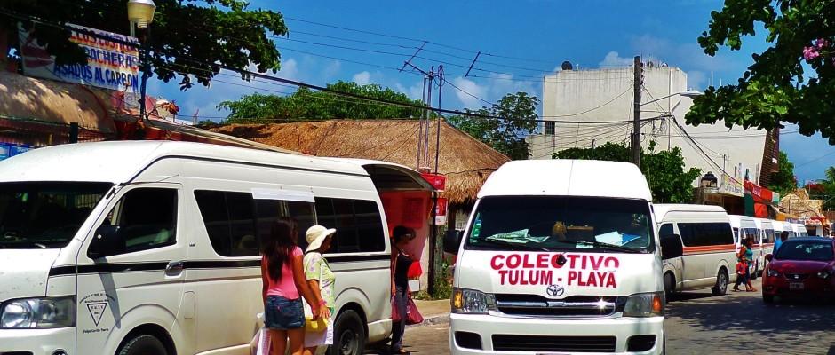 tulum transportation colectivo
