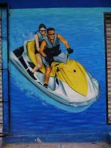 Street art, Playa del Carmen, graffiti, Mexico