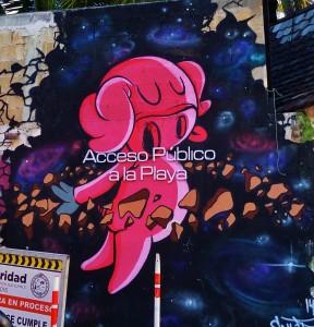 Playa Del Carmen, street art , mural, Mexico