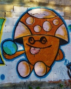 Mural in Playa Del Carmen
