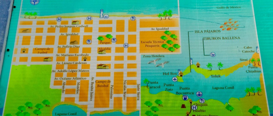 Isla Holbox Map