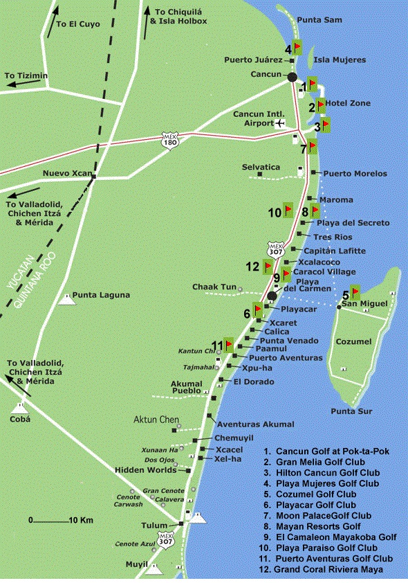 Colectivo Guide For Playa Del Carmen, Cancun and Tulum