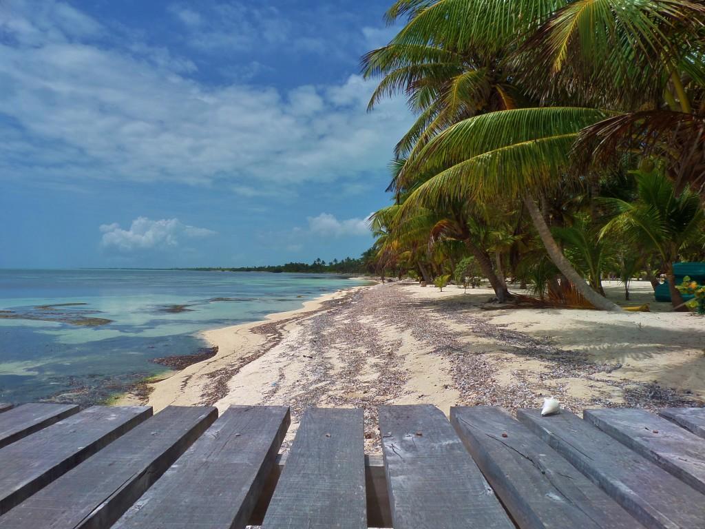 Xcalak beach, costa maya