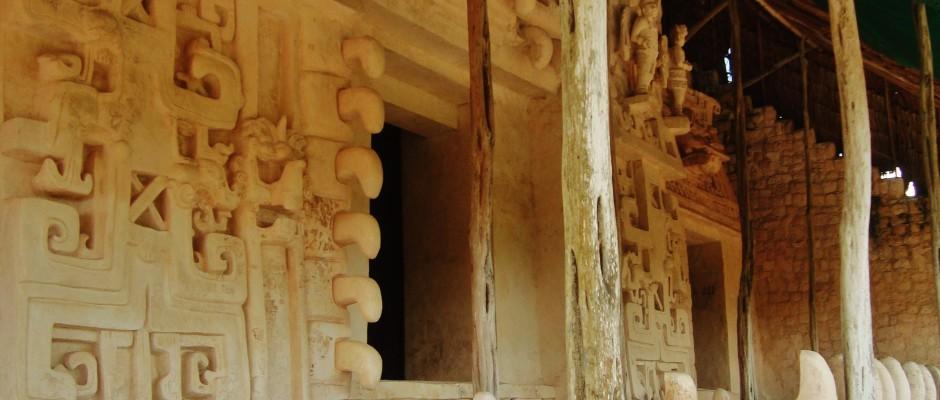 Ek Balam mayan ruins Yucatan Mexico
