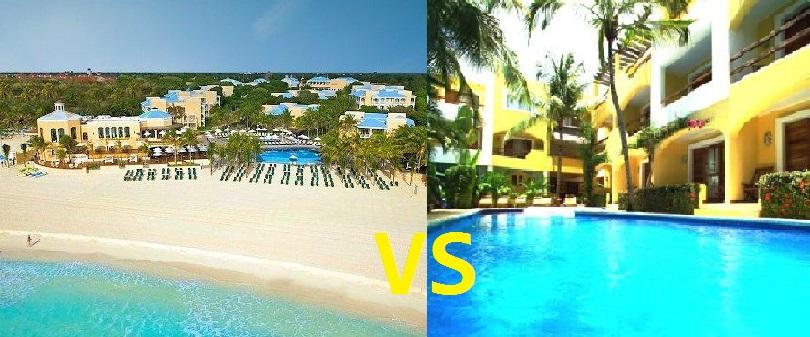 Playa Del Carmen Hotels and All inclusive hotels