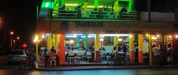 El Fogon Tacos Playa Del Carmen Mexico restaurants