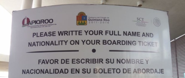 Funny sign in Mexico