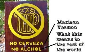 funny sign Mexico