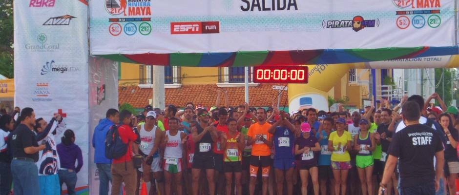 Half Marathon Calendar.Riveria Maya Half Marathon Runs In Playa Del Carmen Everything