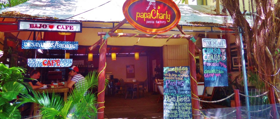 Papa Charly Pasta factory Playa Del Carmen