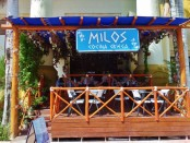 Milos Greek Restaurant Playa Del Carmen Mexico