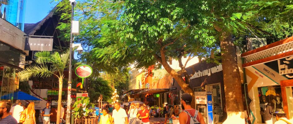 one day in playa del carmen