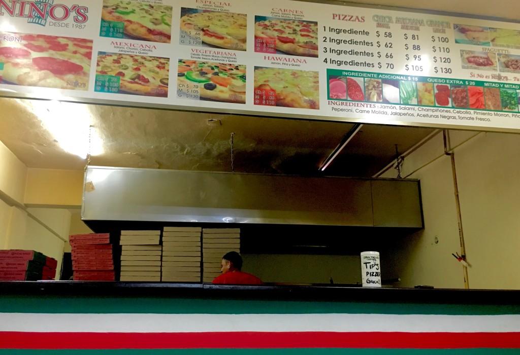 Pizza delivery Playa Del Carmen