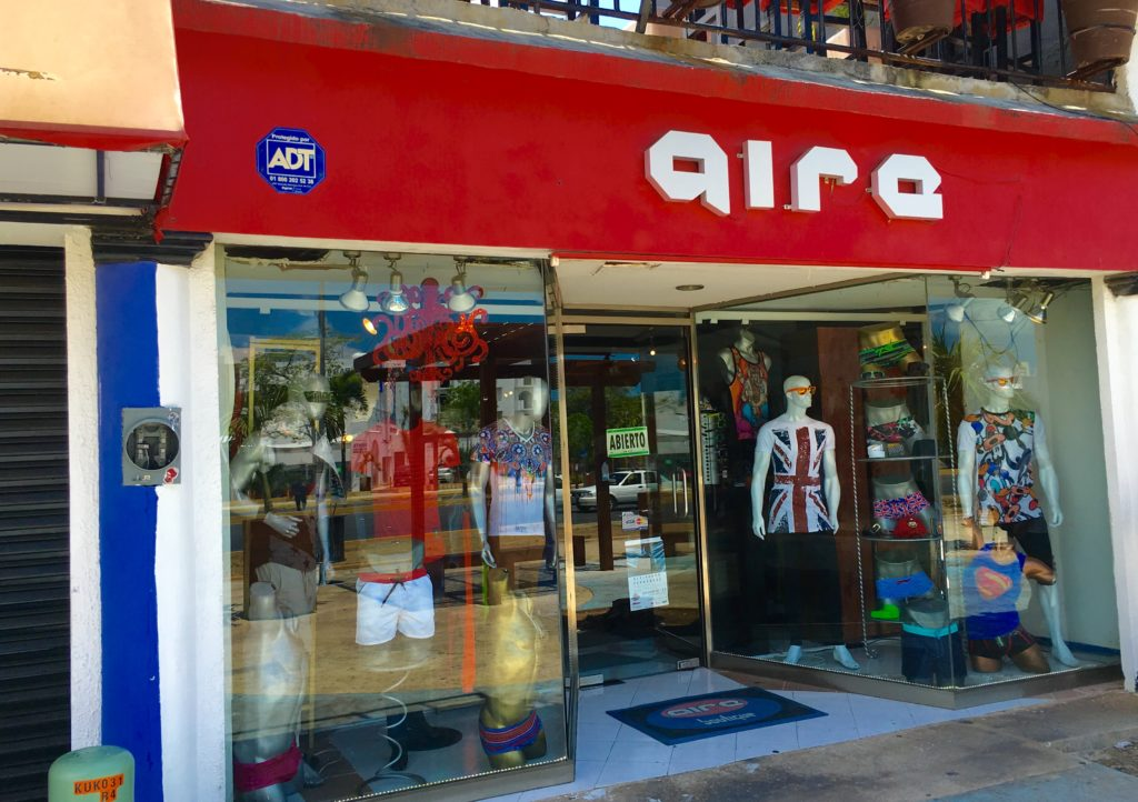 Gay Cancun store