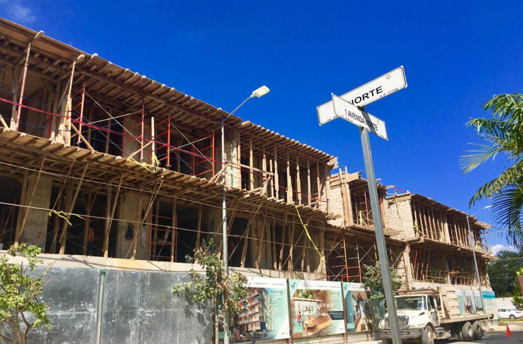 The Shore Condo Building Playa Del Carmen