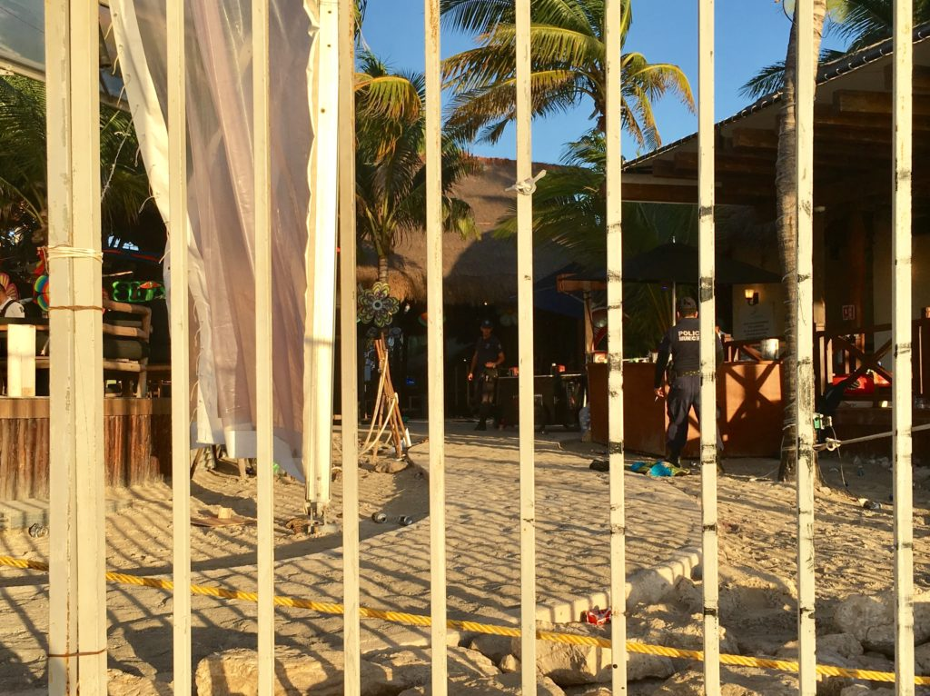 BPM shooting Playa Del Carmen Blue Parrot