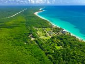 How to fly to Tulum Mexico