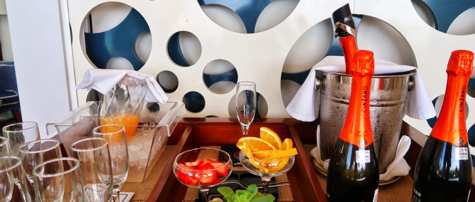 Wake up at the beach with a great breakfast at Mamitas Beach Club