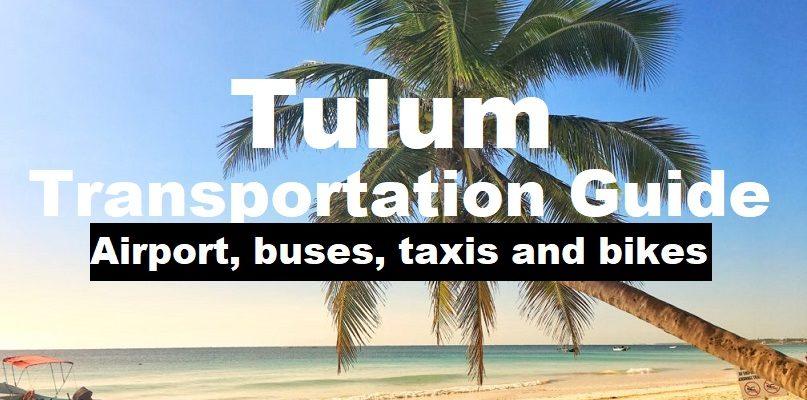 Tulum transportation