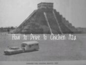 driving to Chichen Itza
