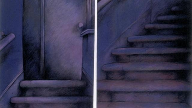 Staircase Drawing #1 – pastel