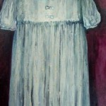 Blue Dress - oil