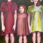 Three Together - oil