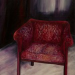 Another chair - oil - 41x29