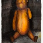 Majloch's Bear - mixed media