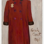 Rosa's Coat - oil on paper