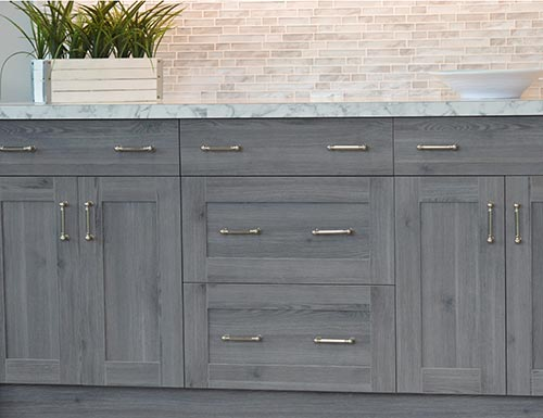 modern frameless cabinets shaker style