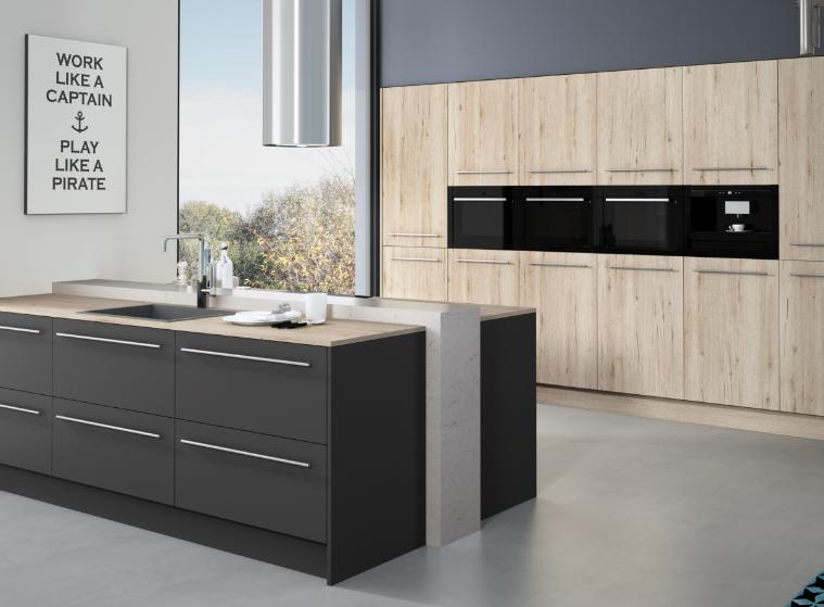 modern frameless cabinets antracita style inspiration
