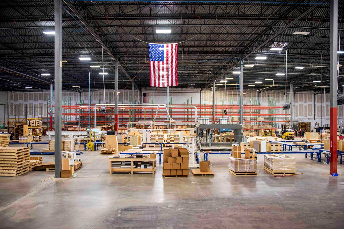Proudly Made in America Cabinetry
