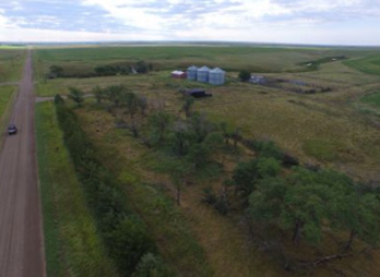 Hughes County Cropland