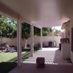 patio roof extension lattice cover