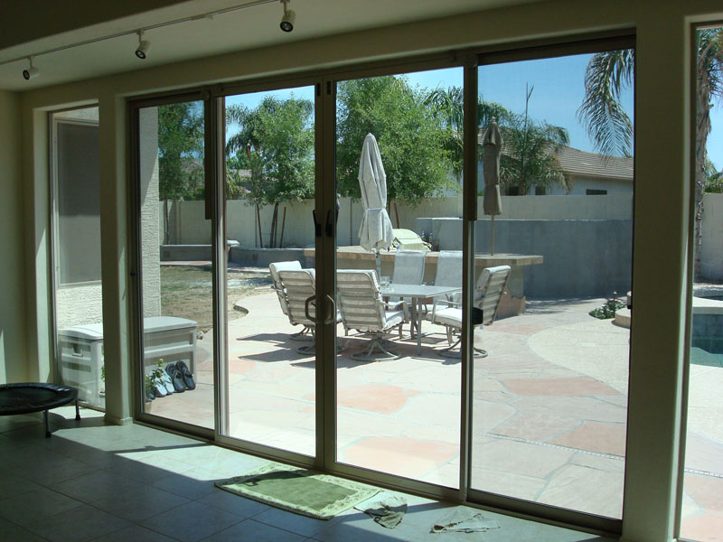 Arcadia Door Enclosed Patio