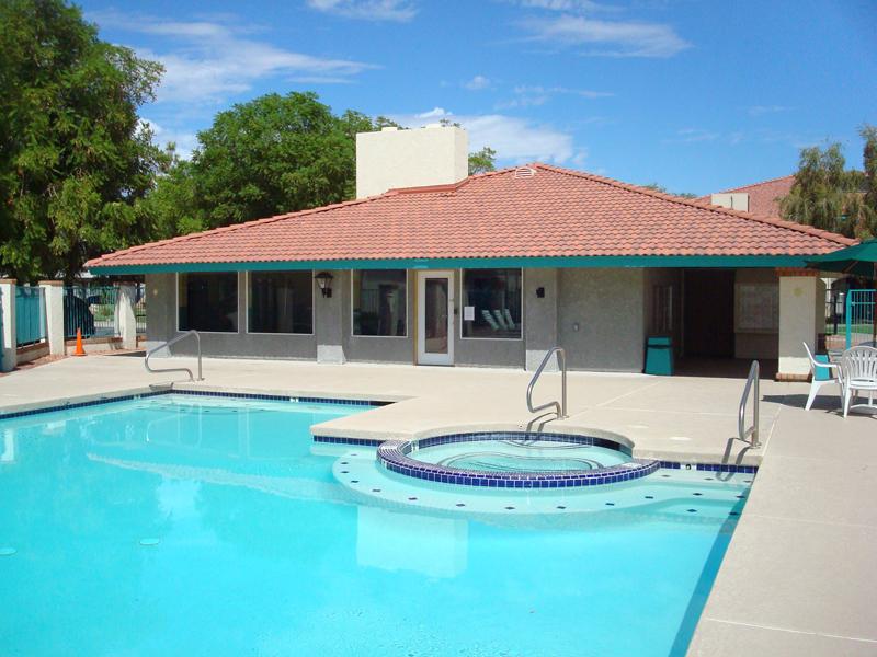 Converted open patio into an activity room. Phoenix Arizona