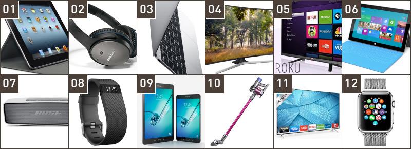 Top 12 Tech Christmas Gifts 2015