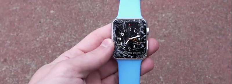apple watch drop test
