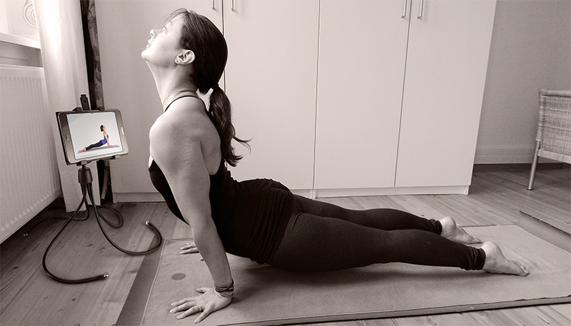 practice yoga at home