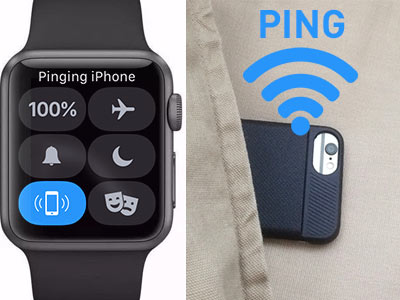 Ping and Find your iPhone