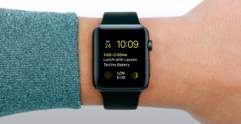 apple watch timekeeping and notifications