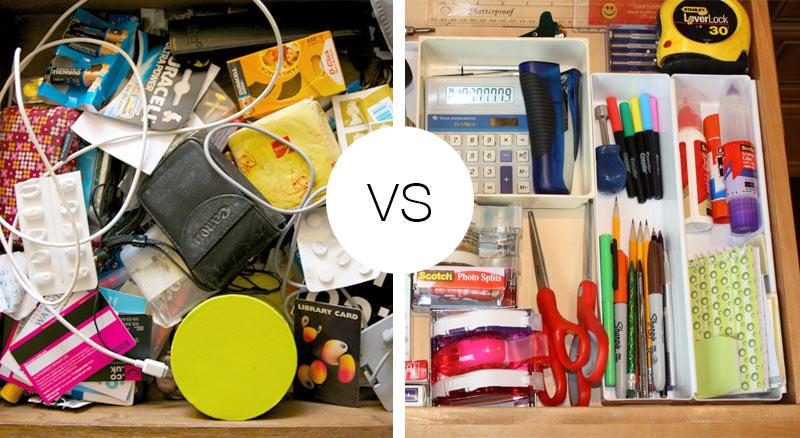 De-Clutter Your drawer