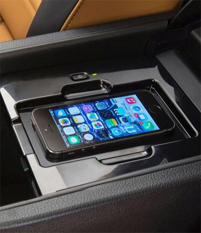 built in qi car charger