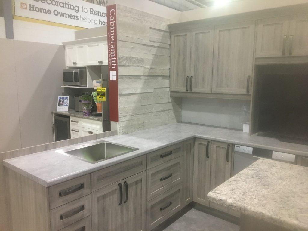 Cabinetsmith kitchen in Jasper Shaker from Home Hardware Fall Market